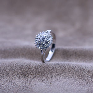 2 ct.tw Double Halo Wedding Ring Deco Ring